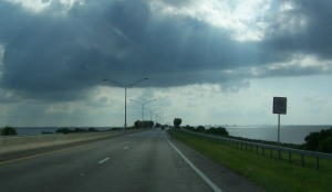The Courtney Campbell Causeway - Tampa, Florida