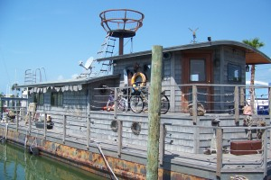 Houseboat set for the movie