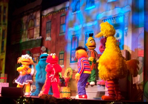 A Sesame Street Christmas in the Globe Theatre
