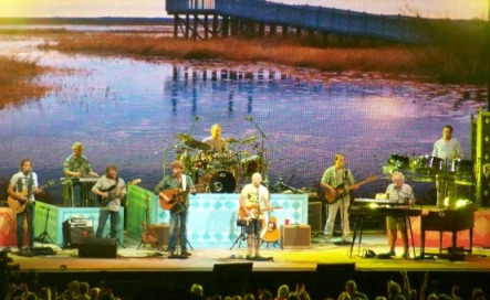 "The ""pop of trop rock"" Jimmy Buffett - Jiffy Lube Live, Bristow, Virginia, 2010"
