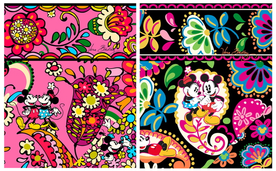 Pink design:Black design: Midnight with MickeyPhoto: ©Vera Bradley