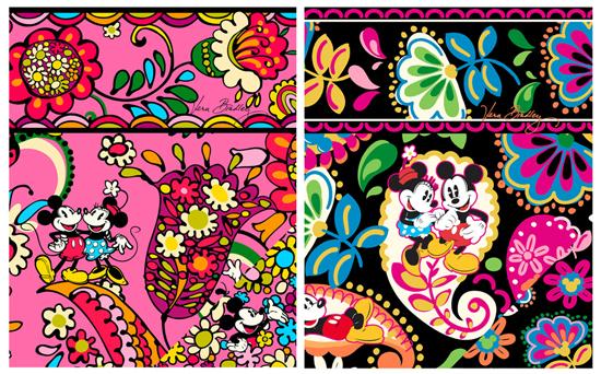 Pink design:Black design: Midnight with MickeyPhoto: ©Vera Bradley